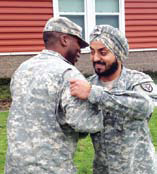 First Us Sikh Soldier Gets Corporal Rank