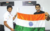 Racers Narain, Karun To Reunite For Team India