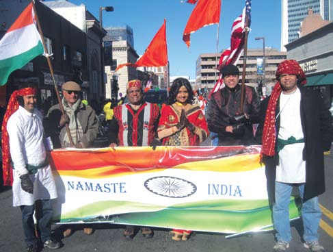 Connecticut Indian American Community Participates In Thanksgiving Day Parade
