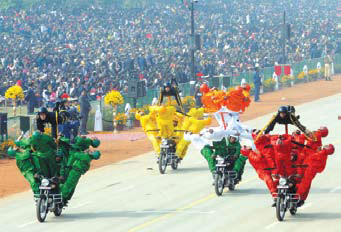 India Celebrates 65th Republic Day