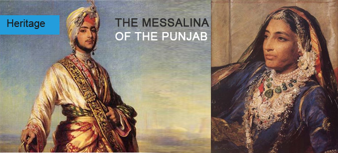 THE MESSALINA OF THE PUNJAB