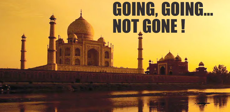 GOING, GOING... NOT GONE! AUCTION OF THE TAJ MAHAL