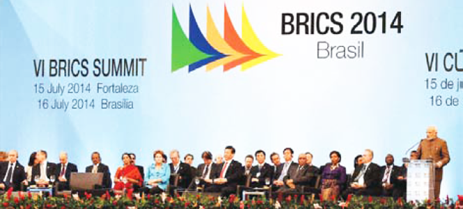 BRICS BY BRICS? IT TAK ES FIVE TO TAN GO