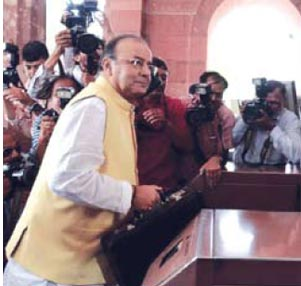 JAITLEY'S BUDGET IN TUNE WITH POLL PLAN?