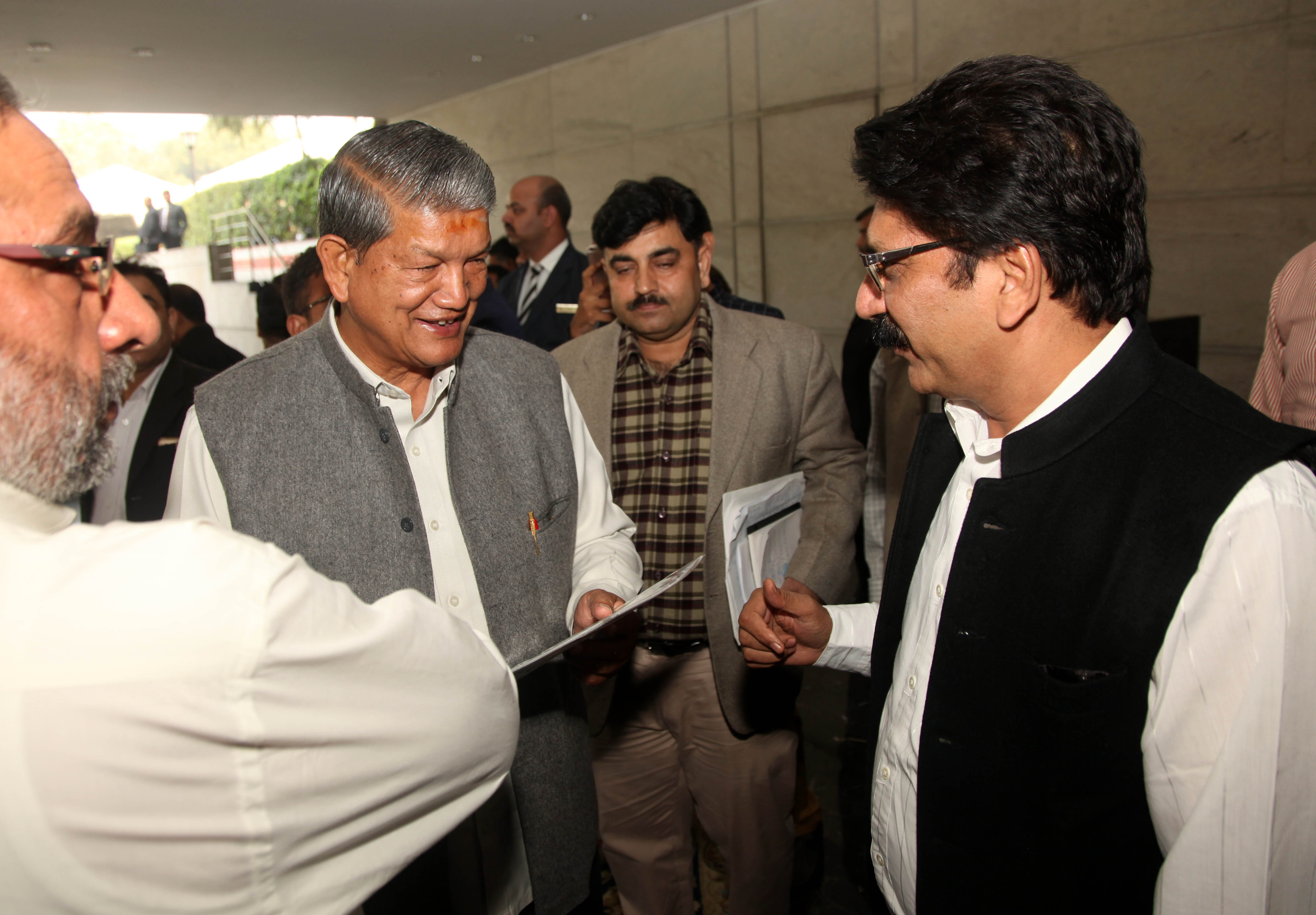 Chief Minister of Uttrakhand Sh. Harish Rawat