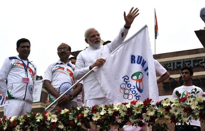 Indian Prime Minister Message to Indian Athletes for Rio 2016 Olympics: 'Dil Jeet Ke Aao'
