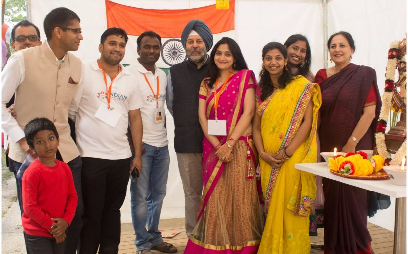 INDIAN FOOD FESTIVAL - 2016 ... TAKES BRUSSELS BY STORM