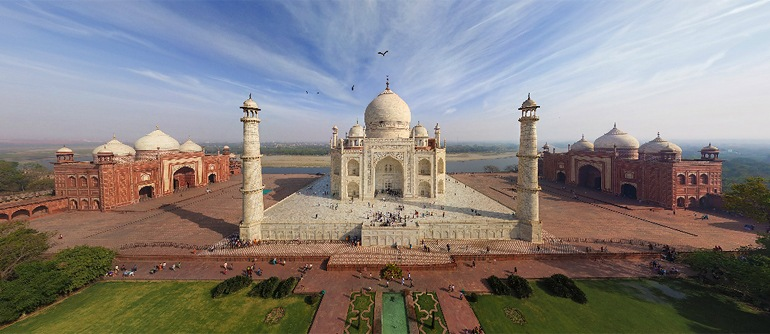 ASI AND GOOGLE, INKS PACT TO CREATE THE VIRTUAL TOUR OF SOME OF THE MAJOR INDIAN MONUMENTS