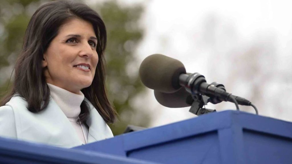 Trump picks Indian-origin Nikki Haley as UN ambassador