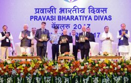 THE 14th PRAVASI BHARATIYA DIWAS - HUM PASSPORT KA COLOUR NAHI, KHOON KA RISHTA DEKHTE HAI: PM