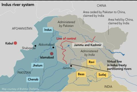 Know IWT is a water-distribution treaty between India and Pakistan