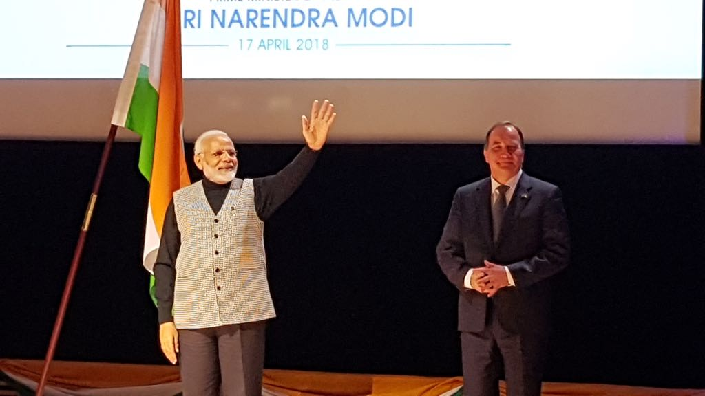Visit of Indian PM Modi to Sweden