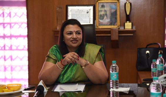 Dr Arathi Krishna becomes the first Chairperson of the NRI Cell of KPCC