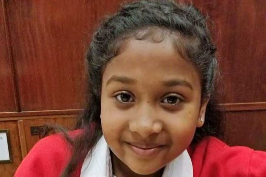 INDIAN-ORIGIN GIRL DISCOVERS RARE BEETLE IN UK