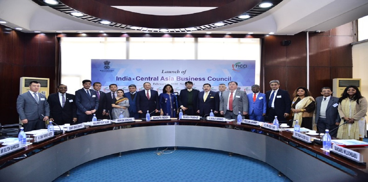 India – Central Asia Business Council Launched